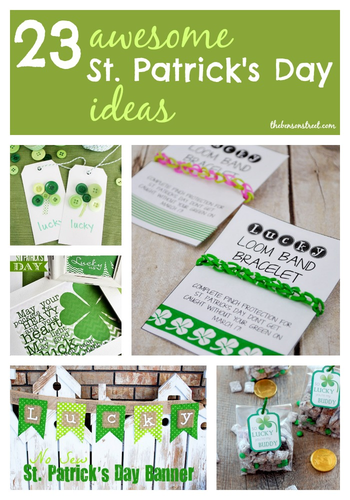 23 Awesome St. Patrick's Day Ideas at thebensonstreet.com.jpg