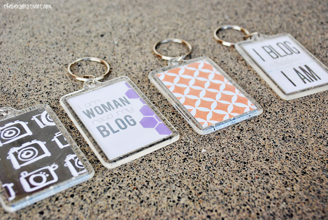 Create your own custom keychains at thebensonstreet.com