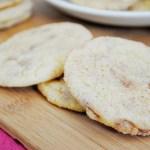 Secret Ingredient Snickerdoodle Cookies