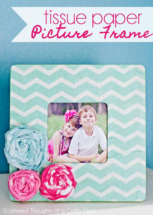 Tissue Paper Frame