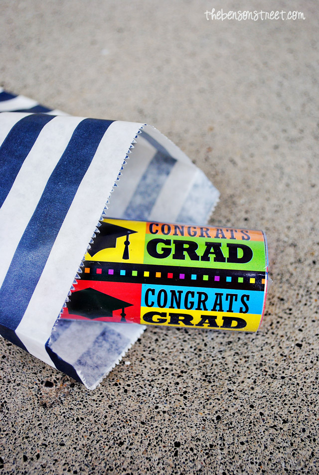 Grad Party Favors at thebensonstreet.com