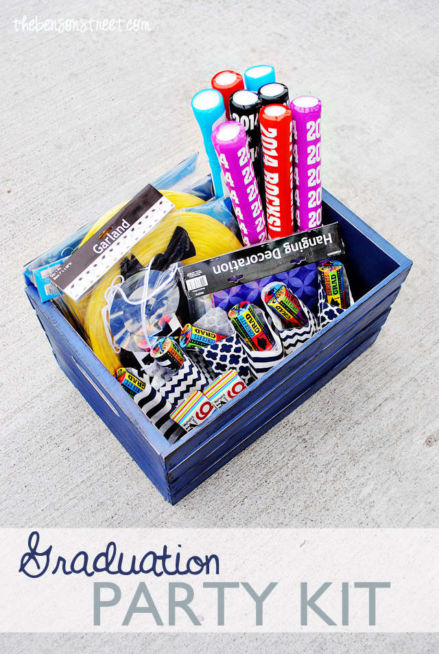 Graduation Party Kit Idea at thebensonstreet.com