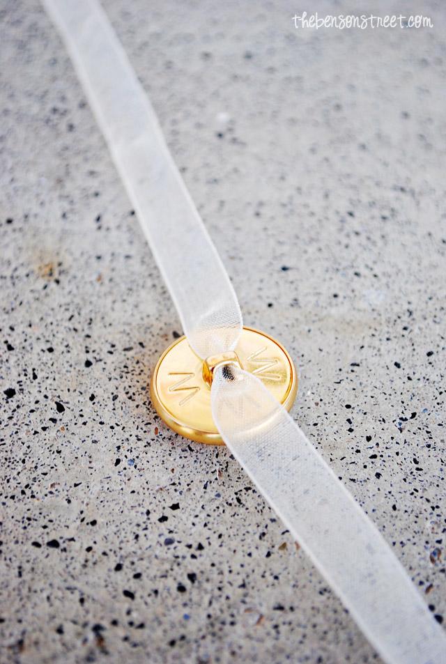 Easy Aspen Button Inspired Bracelet at thebensonstreet.com