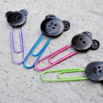 Button Mickey Paper Clips