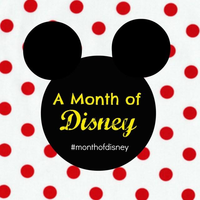 month of disney