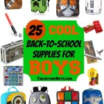 School Supplies for Boys: Back to School Series