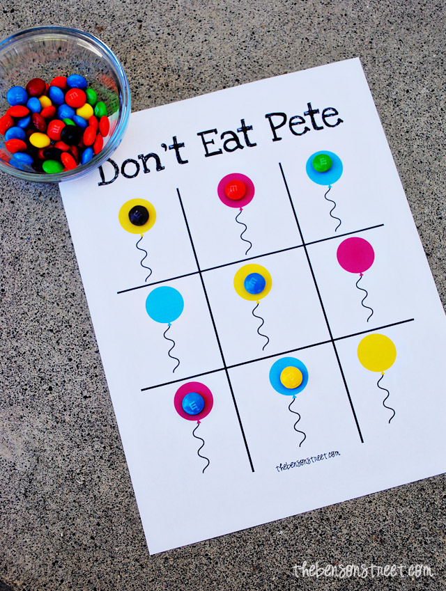 image regarding Don't Eat Pete Printable referred to as Birthday Dont Take in Pete Printable - The Benson Road
