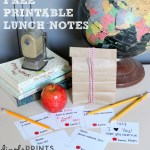 Printable Lunch Notes: Back to School Series