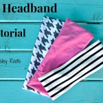 Knit Headband: Back to School Series