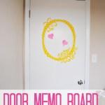 Dorm Door Memo Board