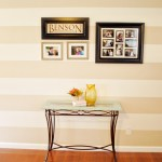 How to Paint Perfect Stripes on a Textured Wall