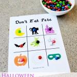 Halloween Don't Eat Pete