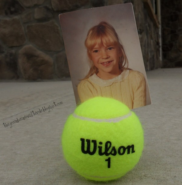 Tennis Ball Picture Frame