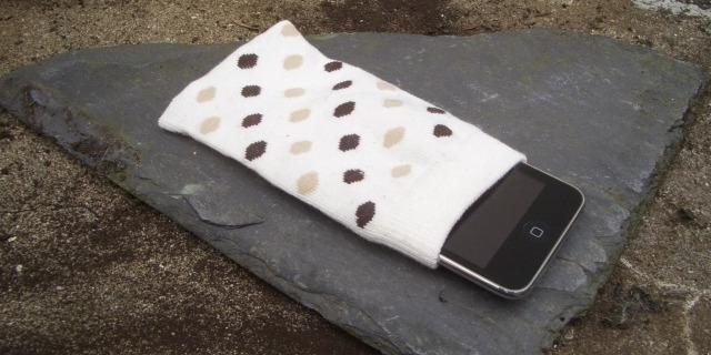 sport sock ipod case