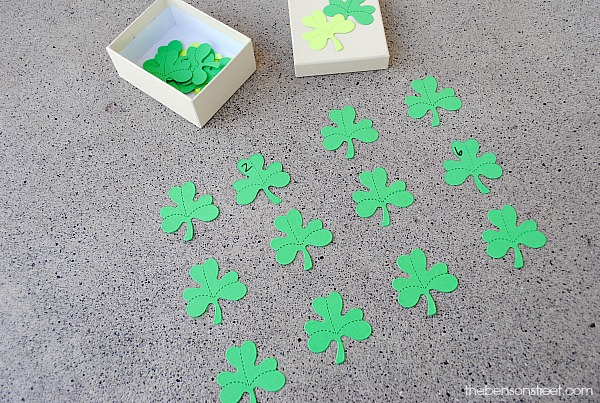 Fun DIY Shamrock Memory Game at thebensonstreet.com
