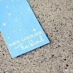 Cinderella Quote Bookmark Printable