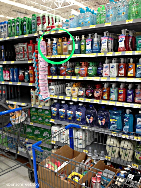 Where to find Softsoap in Walmart at thebensonstreet.com
