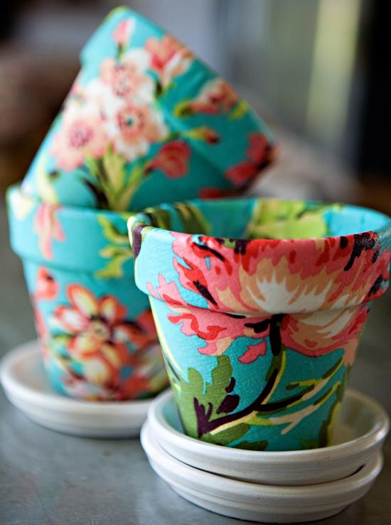 floral pots