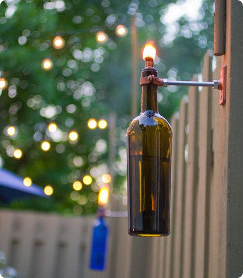 wine lamps