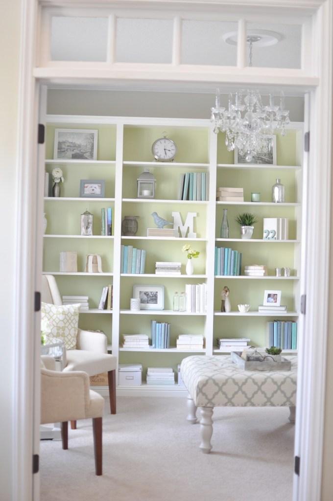 Bookcase Pastel