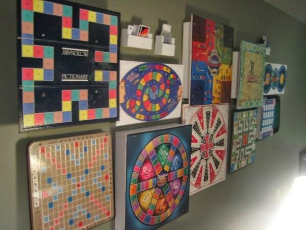 board game wall art