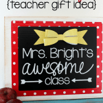 Classroom Sign Teacher Gift