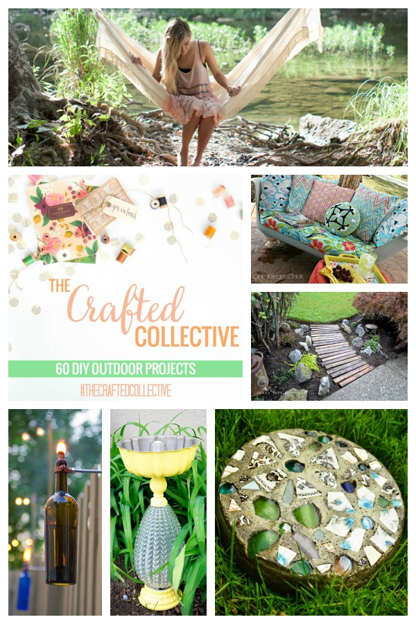 The Crafted Collective 60 DIY Outdoor Projects from thebensonstreet.com