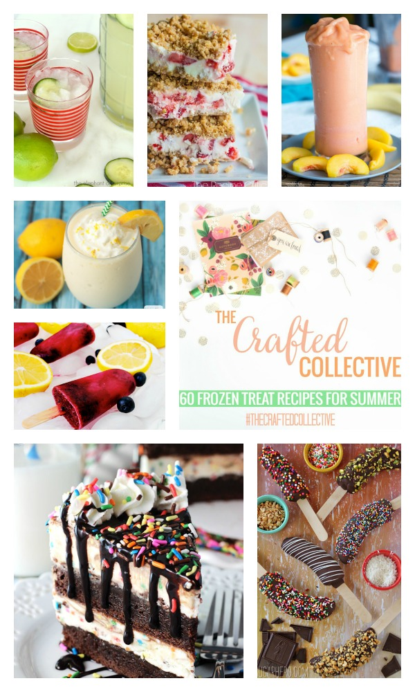 The Crafted Collective 60 Frozen Treats @ thebensonstreet.com