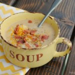 Bacon Cheeseburger Chowder