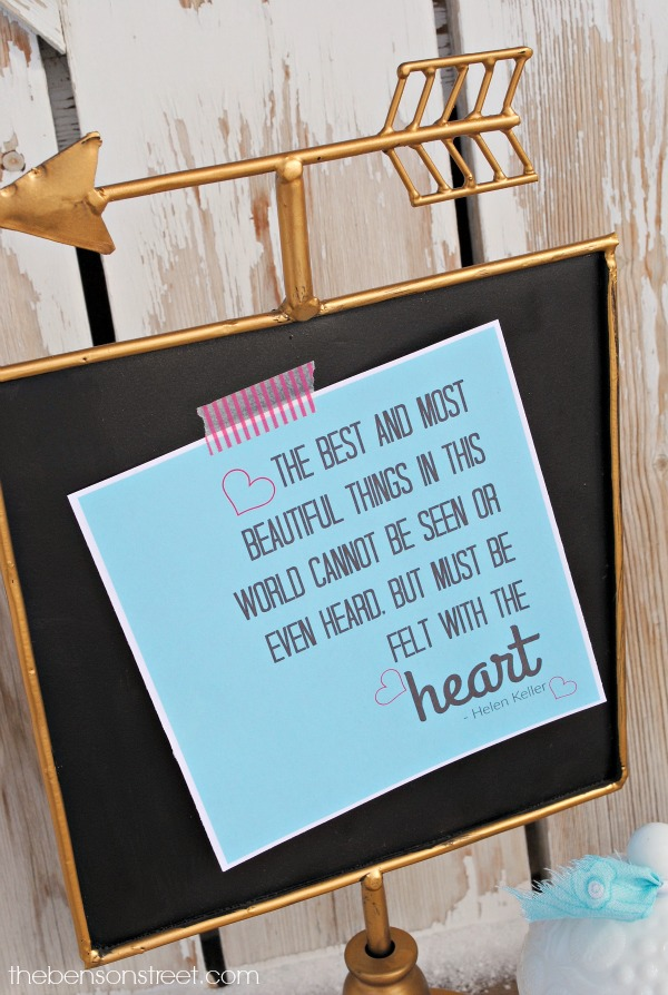 Printable Love Quote at thebensonstreet.com