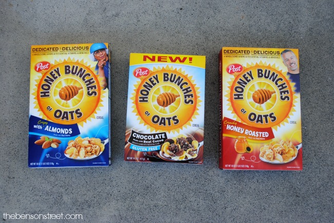 Honey Bunches of Oats at thebensonstreet.com