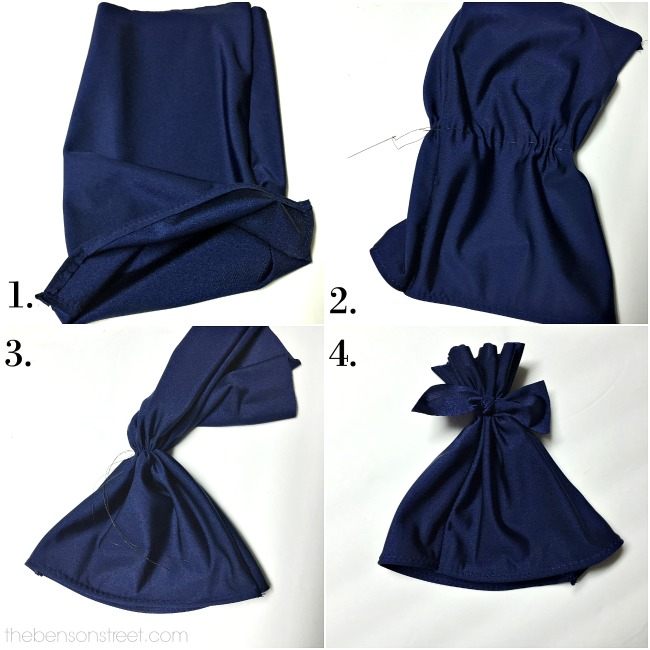 Make your own adorable baby swim cap at thebensonstreet.com