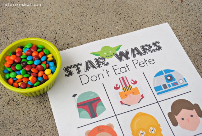 image relating to Don't Eat Pete Printable identify Star Wars Dont Take in Pete Printable - The Benson Highway