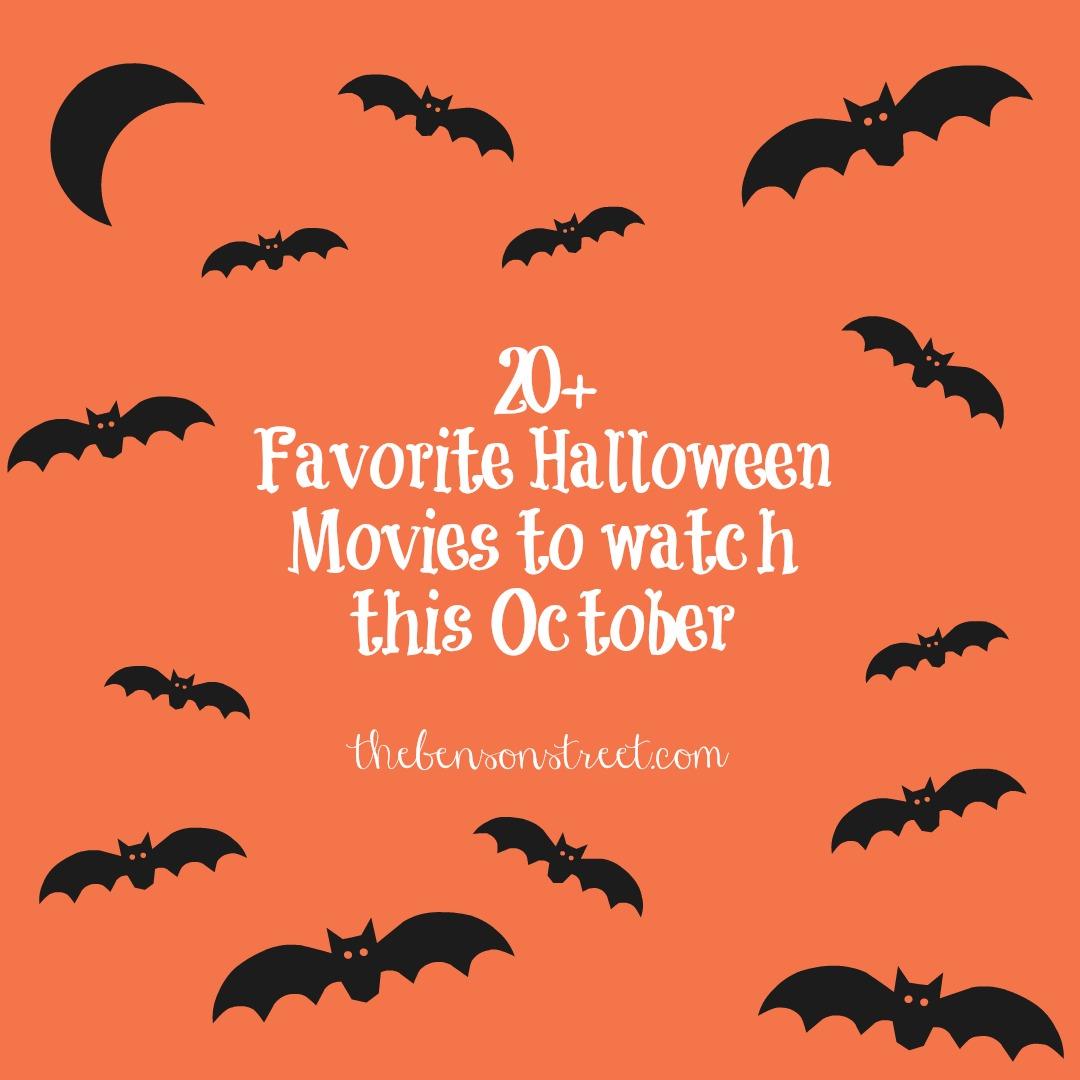 20+ Favorite Halloween Movies - The Benson Street