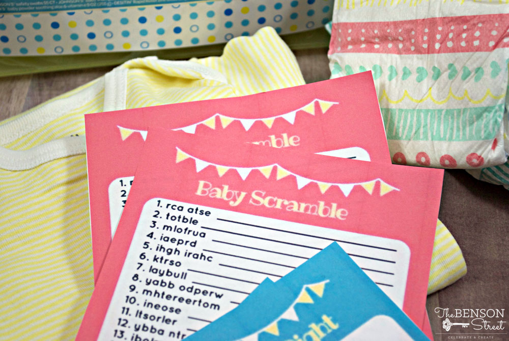 Plan Some Goof Food, Quick And Easy Games And Lots Of Time To Chat! These  Free Printable Baby Shower Games Fit The ...