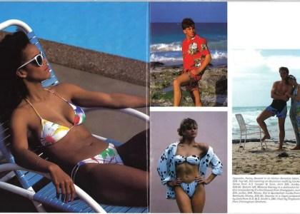Vintage Bermudian: In The Swim