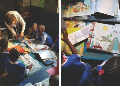 How I Built a Children's Library in West Africa