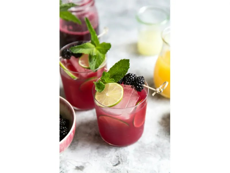Blackberry Seal Cocktail