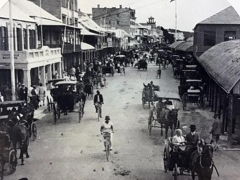 Bicycling Bermuda: February 1930