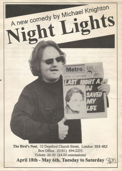 Night Lights Flyer - Front Cover