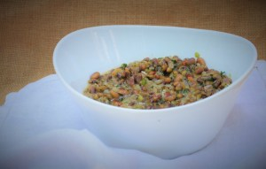 Mustard infused pink-eyed peas in bowl (4)
