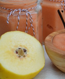 Quince Magically Turns Rosy Pink When Cooked