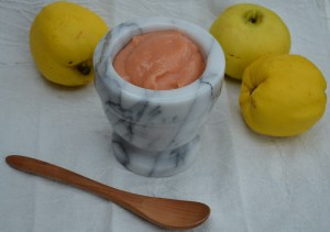 Spiced Wine-Poached Quince
