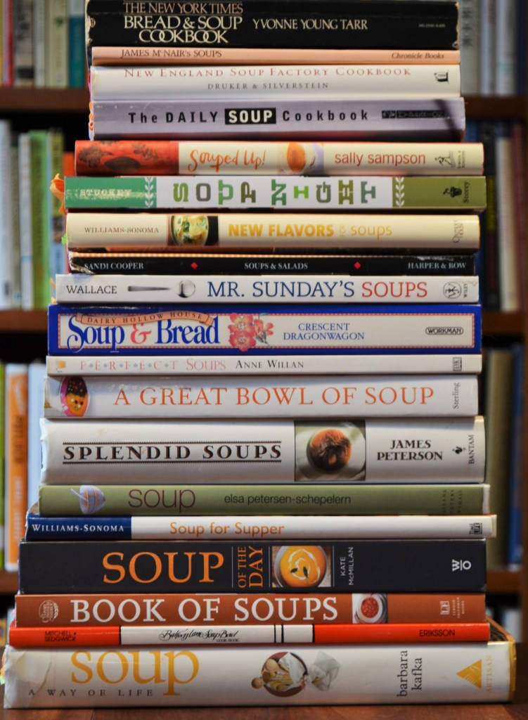 Soup Cookbooks All Have Split Pea Soup Variations