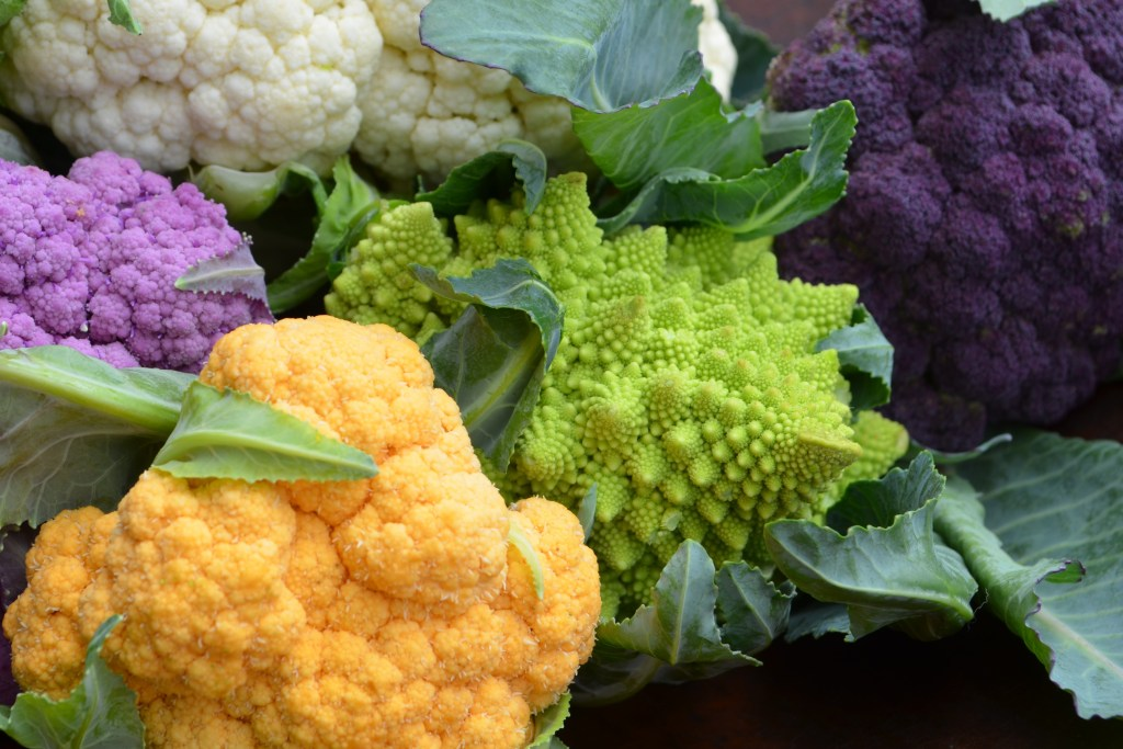 Fantastical Local Cauliflower from Peachtree Road Farmers Market