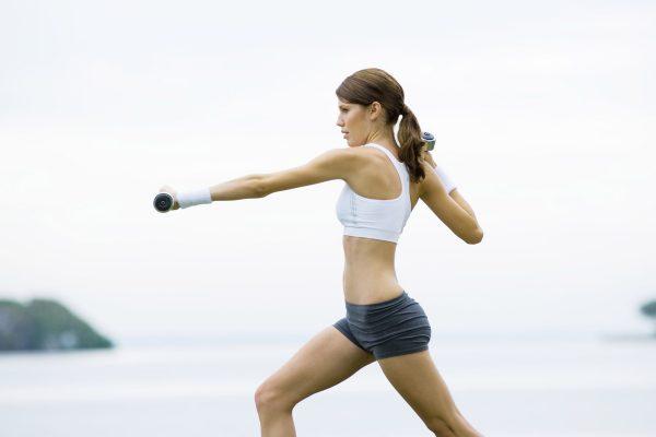 brunettes_women_water_nature_outdoors_shorts_weights_athletic_sports_bra_desktop_1920x1200_wallpaper-10682742
