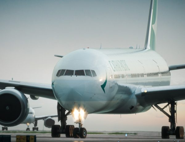 Cathay Pacific's new livery 3