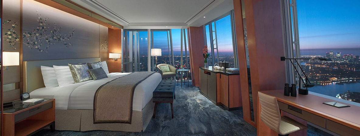 The best view in town at Shangri-La Hotel, At The Shard, London