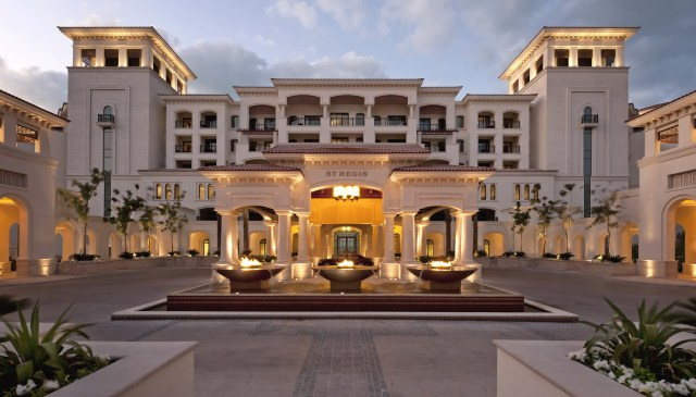 St Regis Saadiyat Island Resort - The Bespoke Black Book