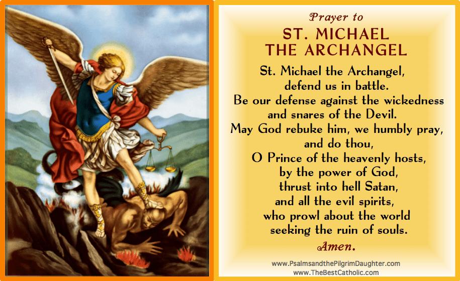 Prayer to Saint Michael the Archangel - The Best Catholic